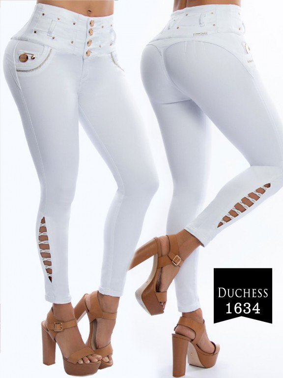 Jeans Levantacola Colombiano  - Ref. 237 -1634-S