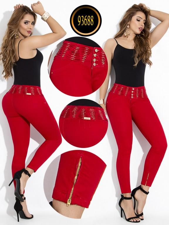 Jeans Levantacola Colombiano - Ref. 243 -93688-E