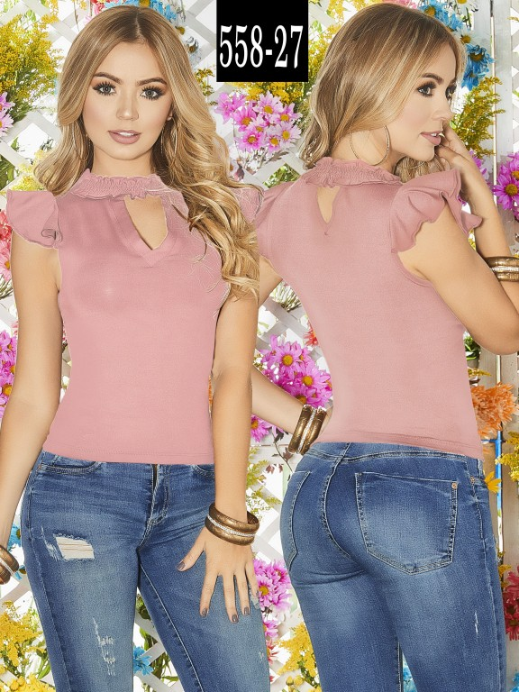 Blusa Colombiana - Ref. 268 -558-27 Candy