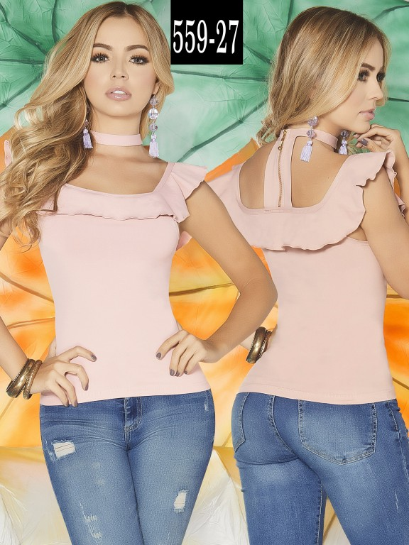 Blusa Colombiana - Ref. 268 -559-27 Candy