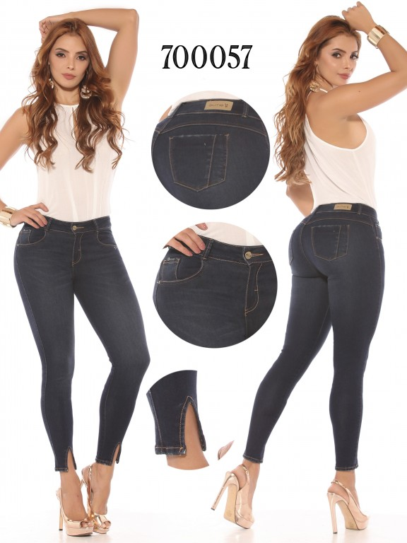 Jeans Levantacola Colombiano  - Ref. 260 -700057