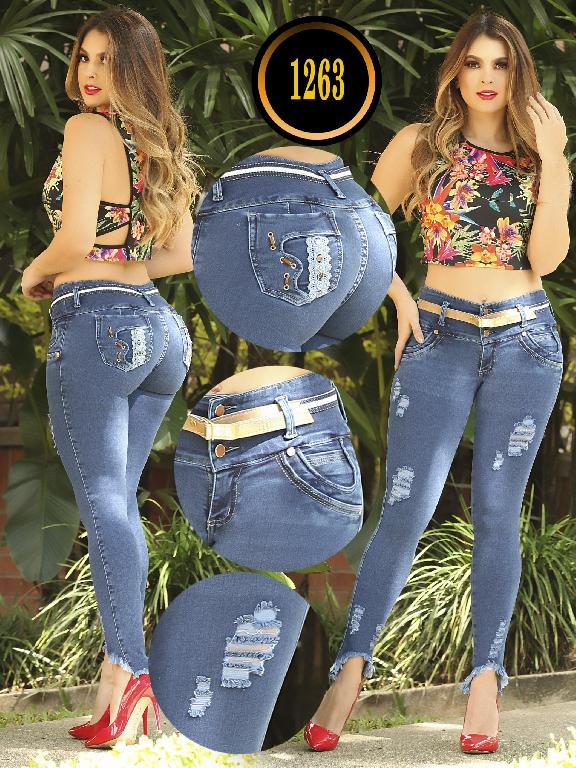 Colombian Butt lifting Jean - Ref. 119 -1263 TB PLUS