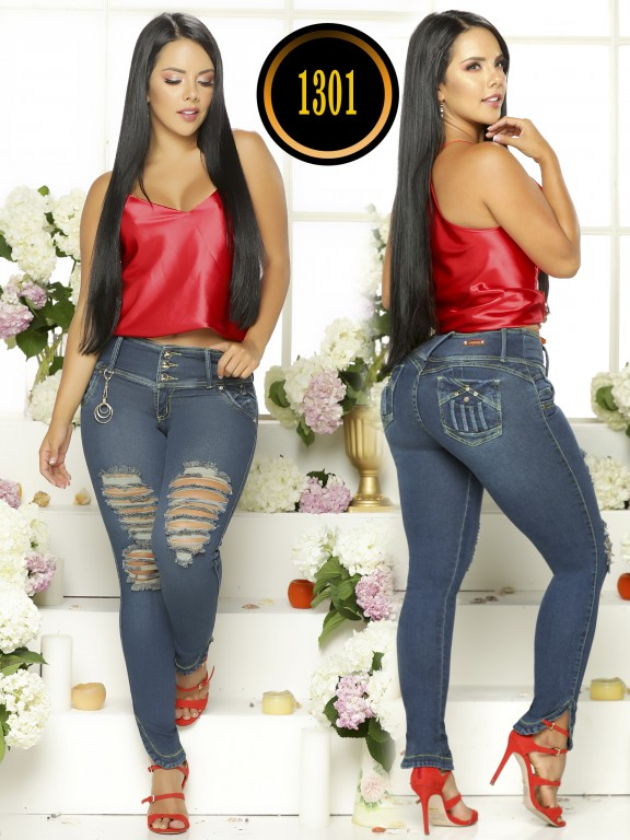 Jeans Levantacola Colombiano - Ref. 119 -1301TB