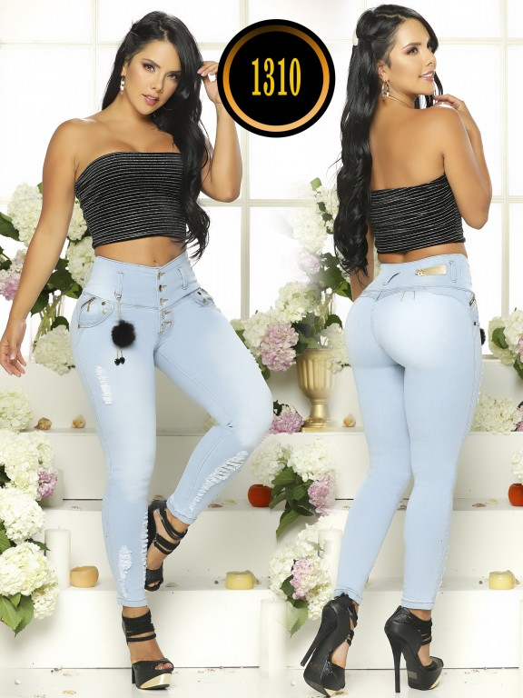 Jeans Levantacola Colombiano - Ref. 119 -1310TB
