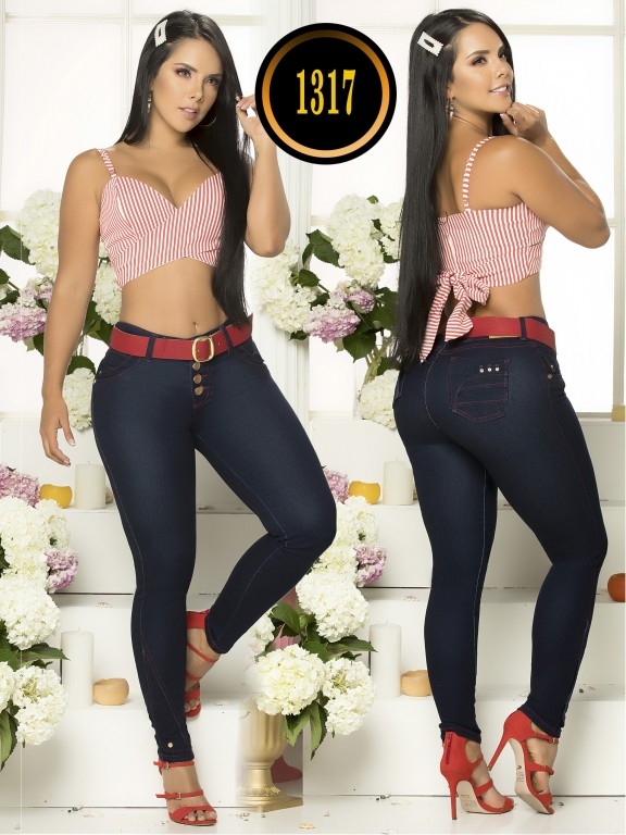 Colombian Butt Lifting Jean - Ref. 119 -1317TB