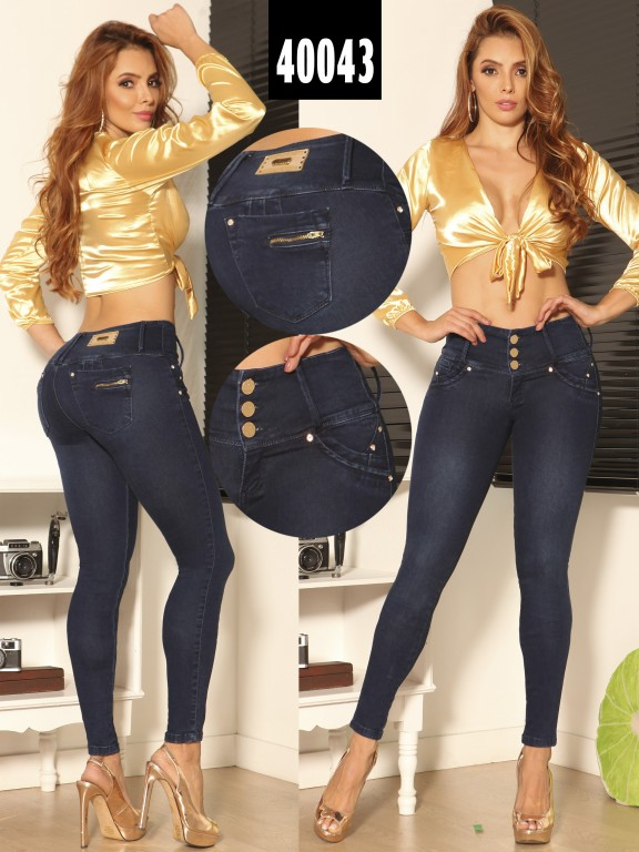 Jeans Levantacola Colombiano  - Ref. 269 -40043