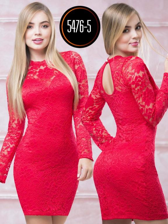 Vestido  Colombiano - Ref. 119 -5476-5