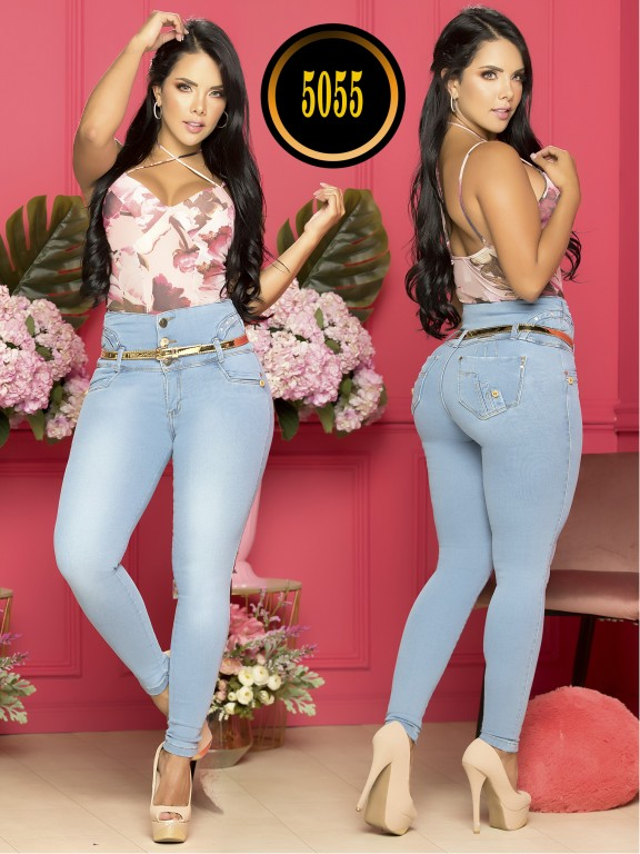 COLOMBIAN BUTT LIFTING JEAN - Ref. 119 -5055-S