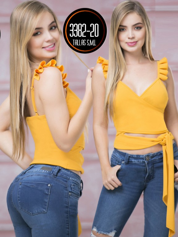 Colombian Fashion Blouse - Ref. 119 -3382-20