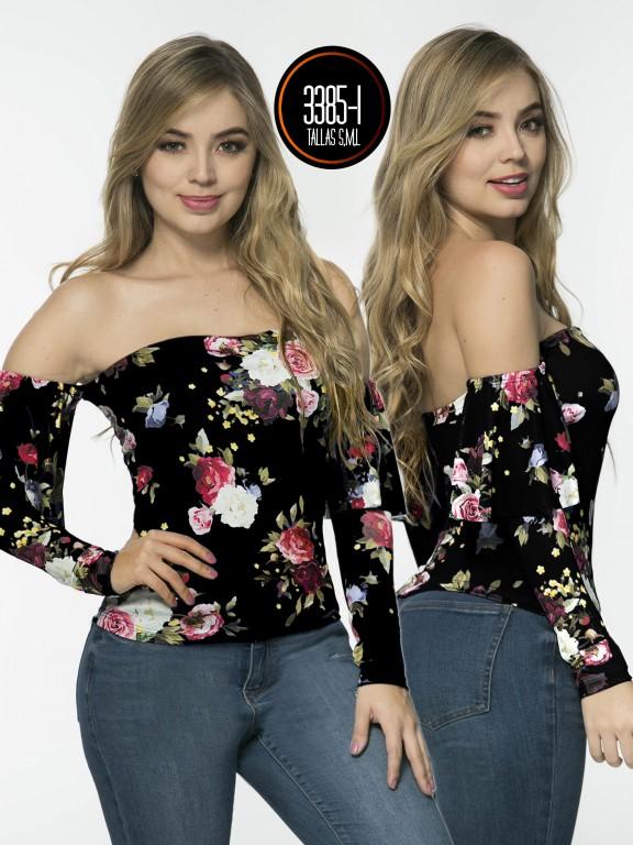 Blusa Moda Colombiana - Ref. 150 -3385-1