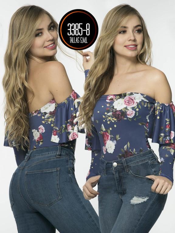 Blusa Moda Colombiana - Ref. 119 -3385-8