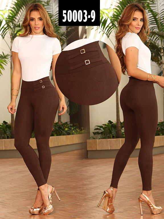 Leggins Colombiano - Ref. 103 -50003-9 Cafe
