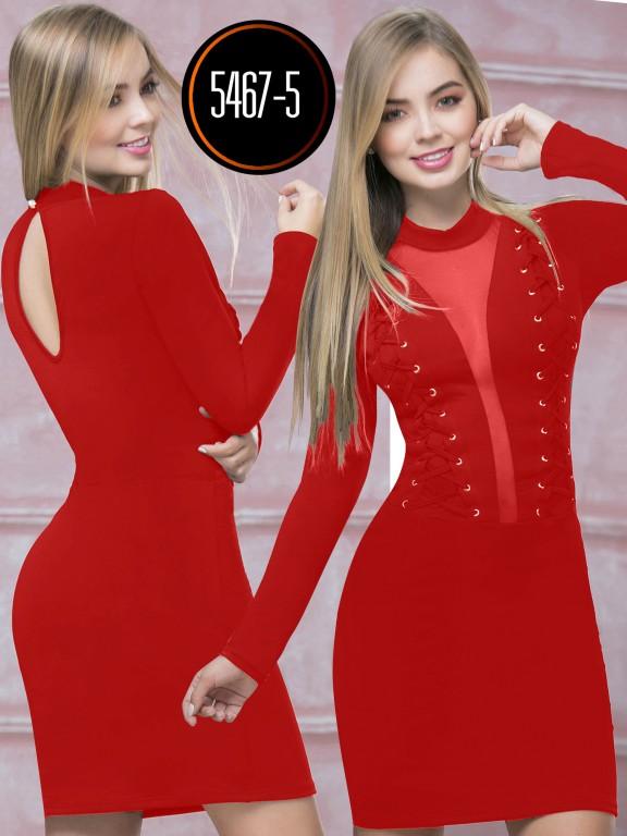 Vestido  Colombiano - Ref. 119 -5467-5