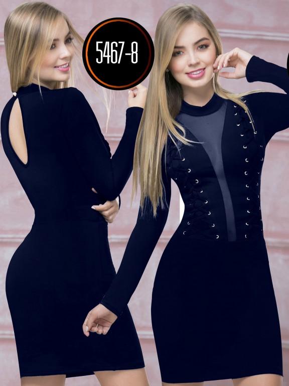 Vestido  Colombiano - Ref. 119 -5467-8