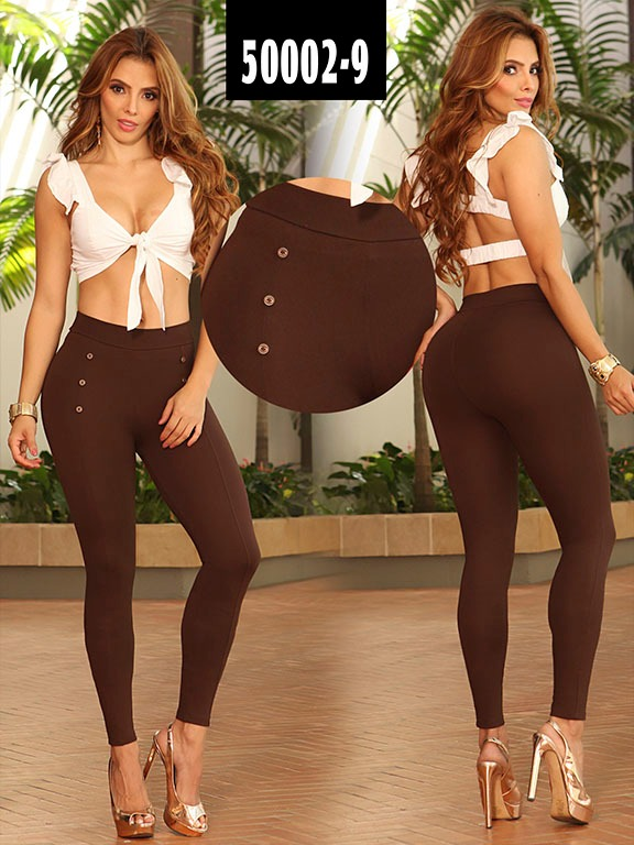 Leggins Colombiano - Ref. 103 -50002-9 Cafe