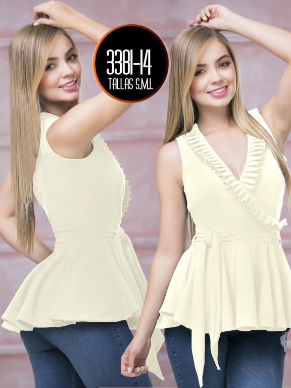 Colombian Fashion Blouse  - Ref. 119 -3381-14