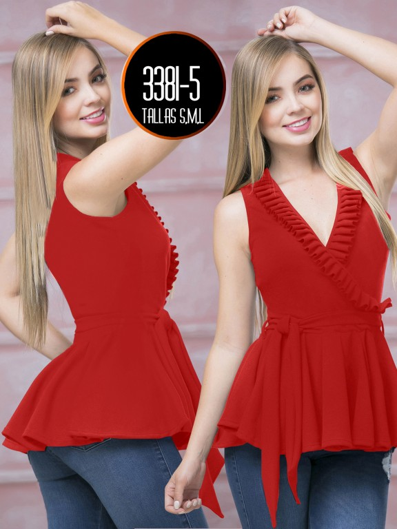 Blusa Moda Colombiana - Ref. 119 -3381-5