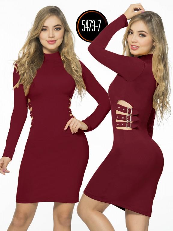 Vestido  Colombiano - Ref. 119 -5473-7