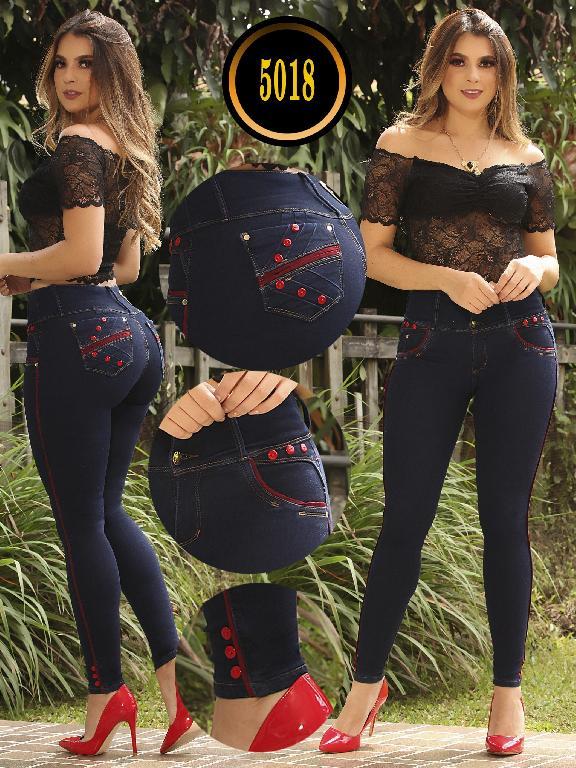 Jeans Colombiano Plus Size - Ref. 119 -5018 S Plus