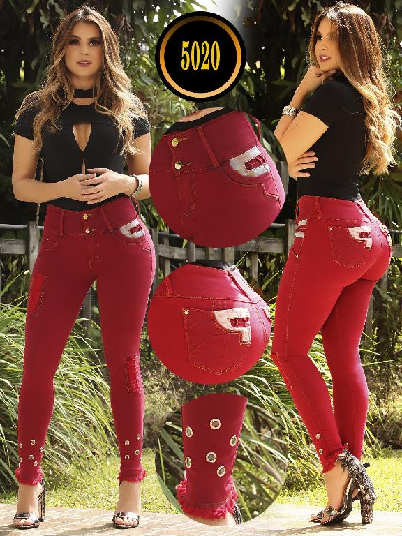 Jeans Colombiano Plus Size - Ref. 119 -5020 S Plus
