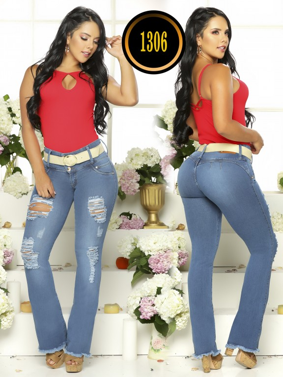 Jeans Colombiano Plus Size - Ref. 119 -1306TB Plus Size
