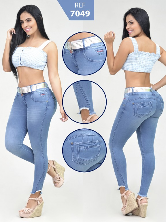 Jeans Levantacola Colombiano - Ref. 261 -7049