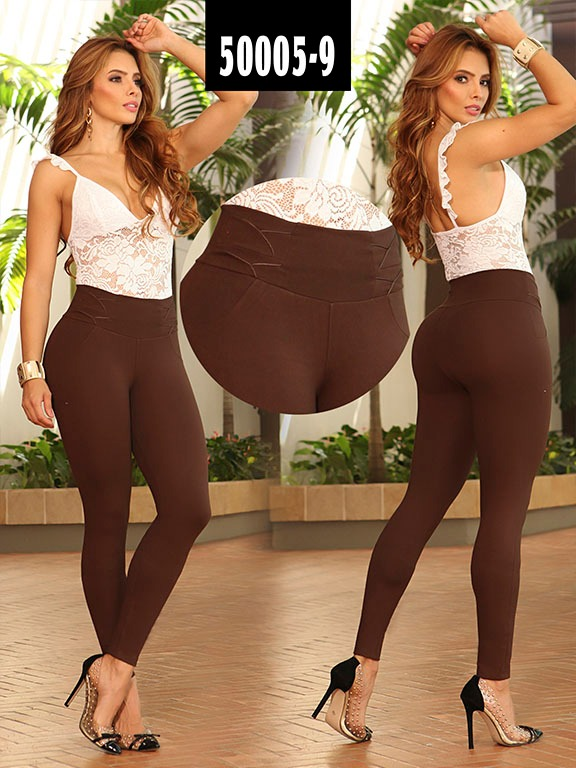 Leggins Colombiano - Ref. 103 -50005-9 Cafe