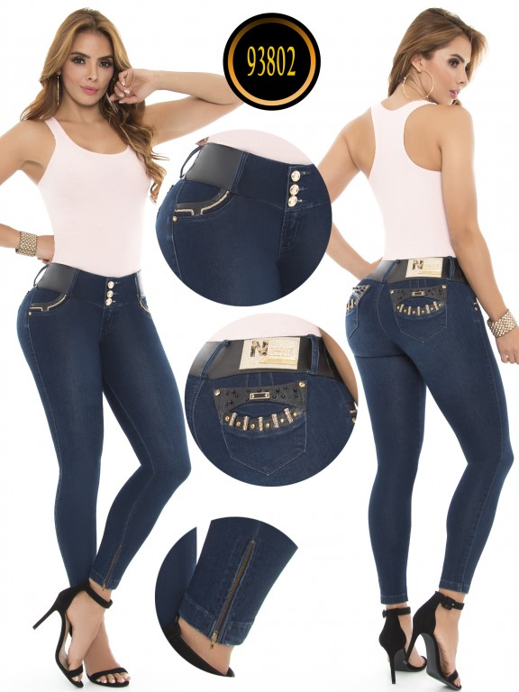 Jeans Levantacola Colombianos - Ref. 243 -93802-E