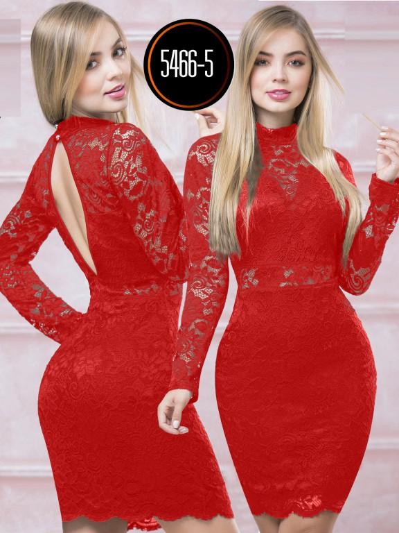 Vestido  Colombiano - Ref. 119 -5466-5