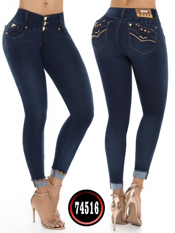 Jeans Colombiano - Ref. 248 -74516-D