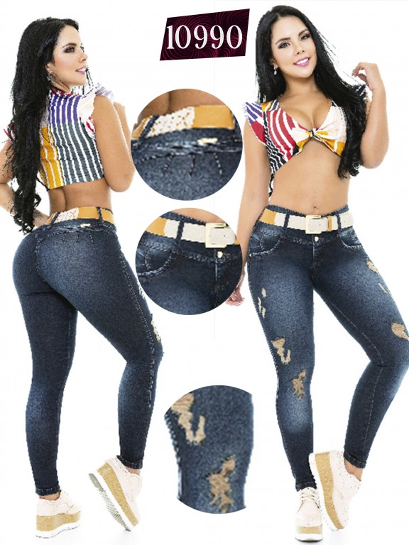 Jeans Colombiano Cheviotto - Ref. 101 -10990