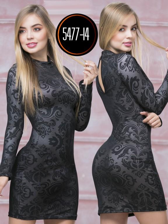 Vestido  Colombiano - Ref. 119 -5477-14