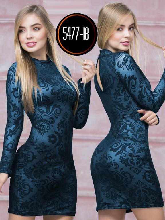 Vestido  Colombiano - Ref. 119 -5477-18