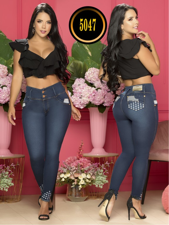 Colombian Butt lifting Jean - Ref. 119 -5047S Plus Size