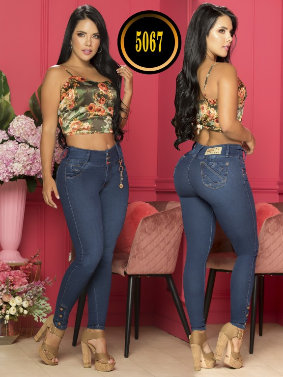 Colombian Butt lifting Jean Plus size - Ref. 119 -5067-S Plus Size