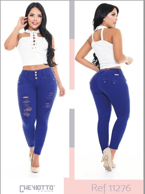 Jeans Colombiano Cheviotto - Ref. 101 -11276