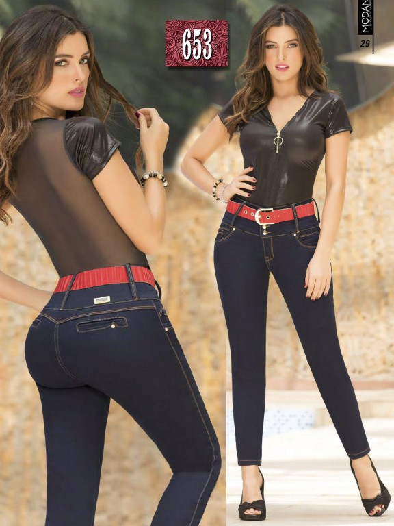 Jeans Colombiano  - Ref. 281 -653