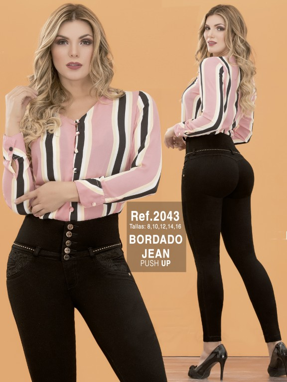 Jeans Colombianos - Ref. 282 -2043