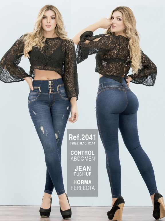 Jeans Colombianos - Ref. 282 -2041