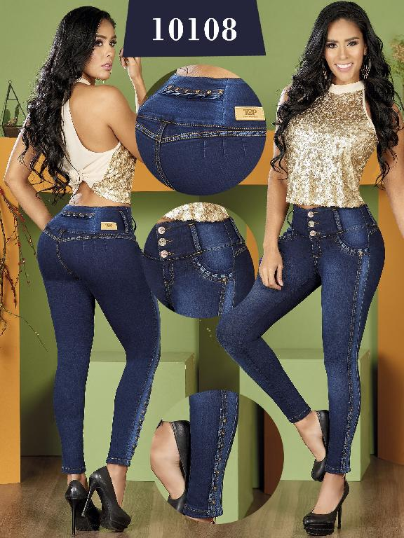 Colombian Butt lifting Jean - Ref. 123 -10108 TW
