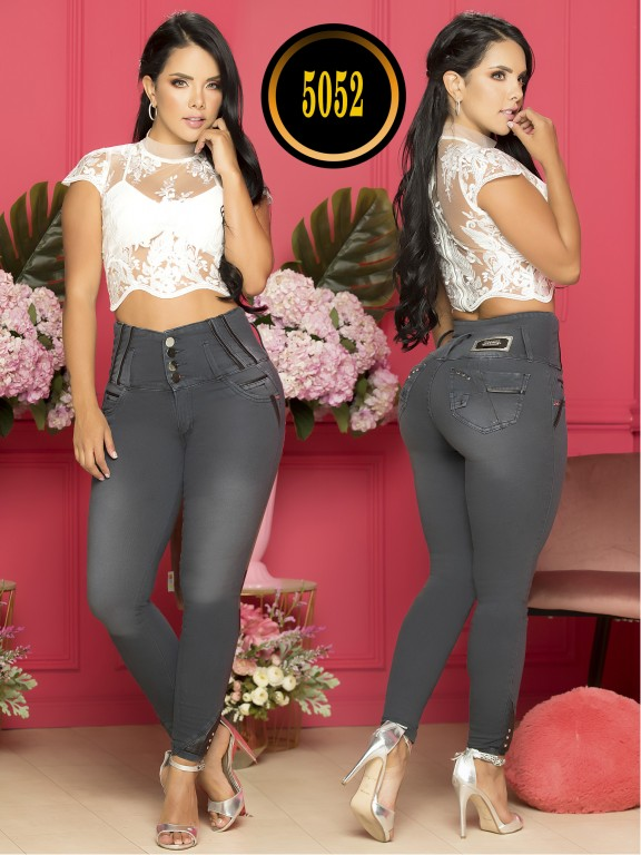 Colombian Butt lifting Jean Plus Size - Ref. 119 -5052-S Plus Size