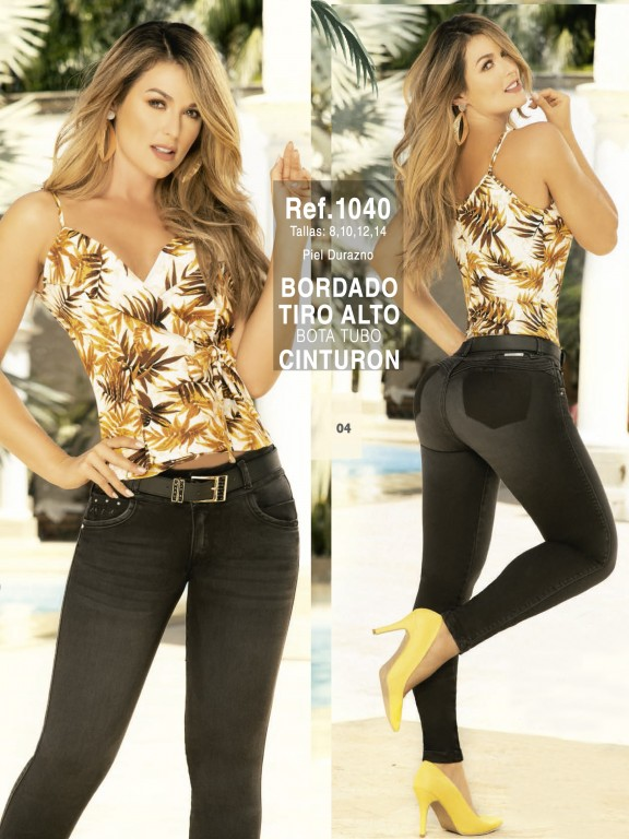 Jeans Colombianos  - Ref. 280 -1040