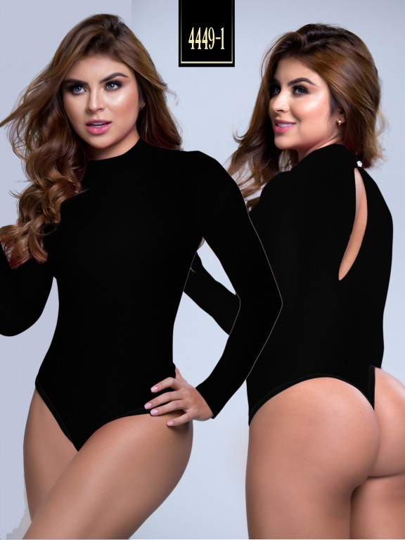 Body Reductor Colombiano Capellini - Ref. 114 -4449-1 Negro