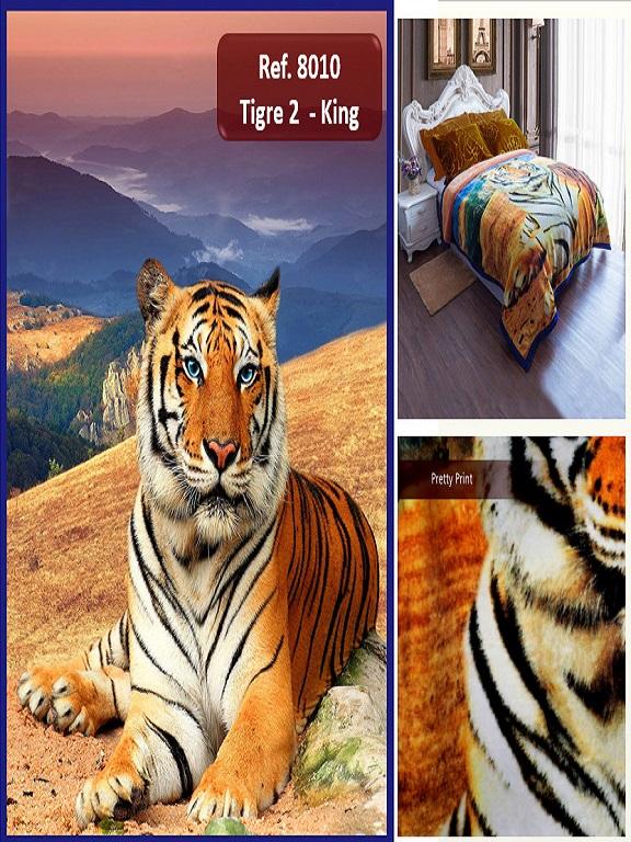 Cobija K Tigres - Ref. 272 -8010 K Tigres