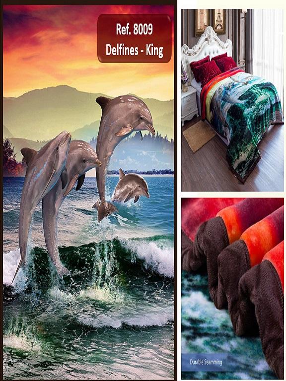 Cobija K Delfines - Ref. 272 -8009 K Delfines