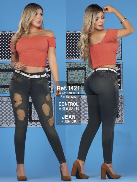 Jeans Colombiano - Ref. 279 -1421