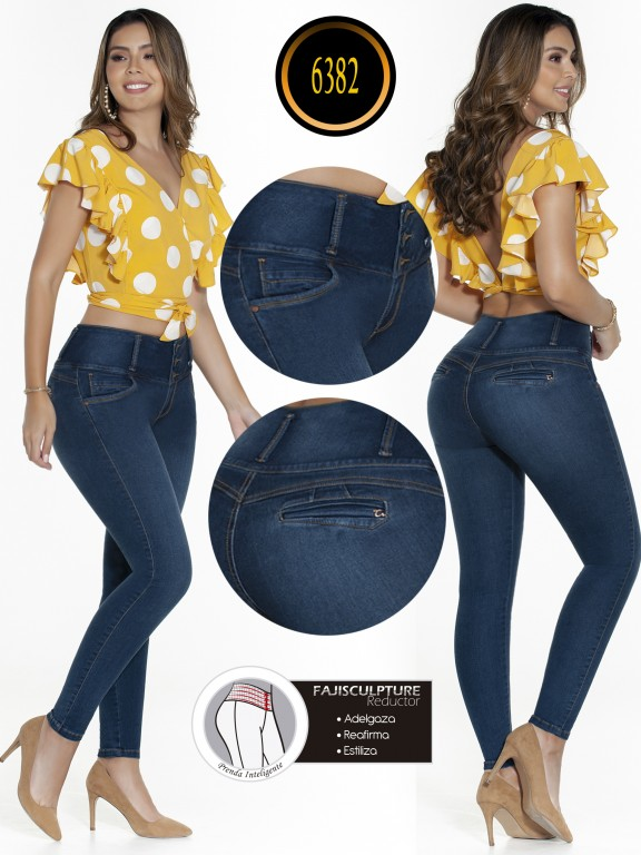 Jeans Colombianos - Ref. 278 -6382