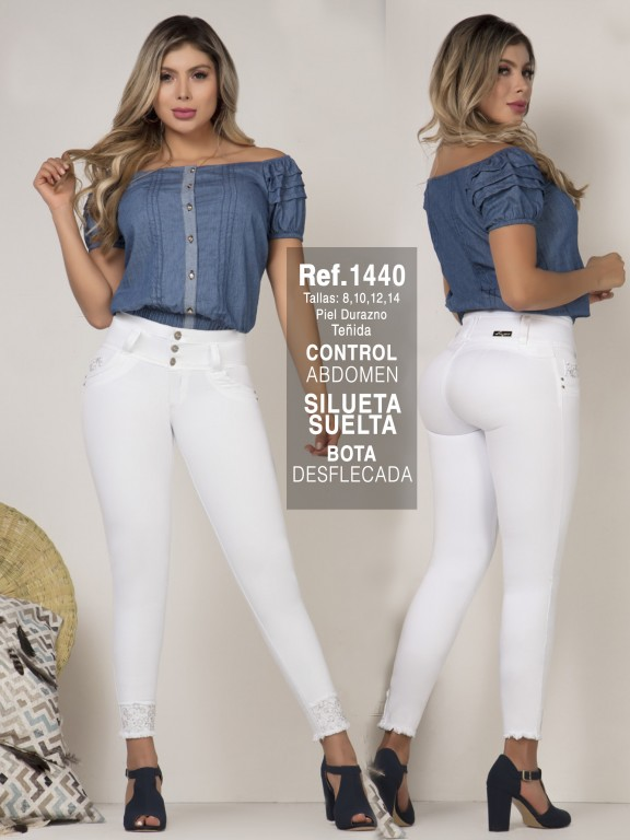 Colombian Butt lifting Jean  - Ref. 279 -1440