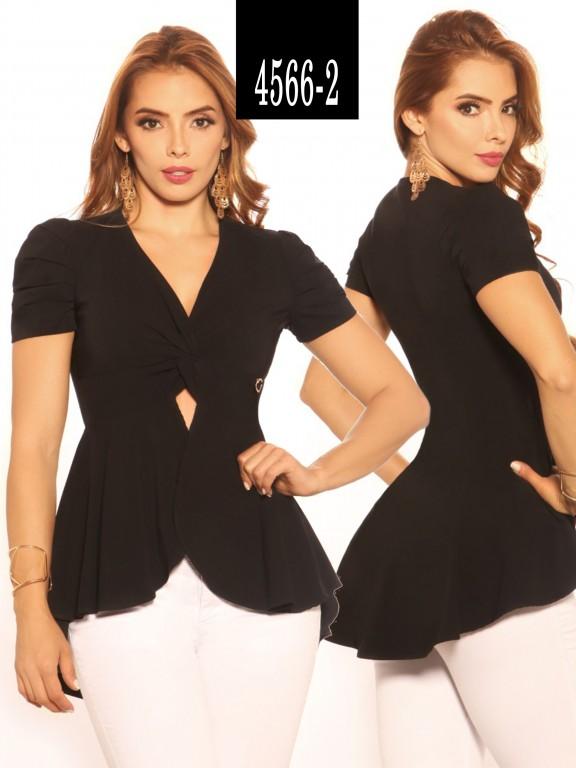 Blusa Moda Colombiana - Ref. 252 -4566-2 Negro
