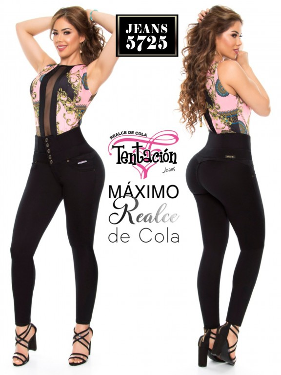 Jeans Levantacola Colombiano - Ref. 283 -5725